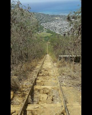 long way back down