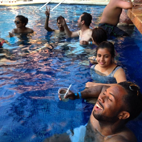 all inclusive pool party